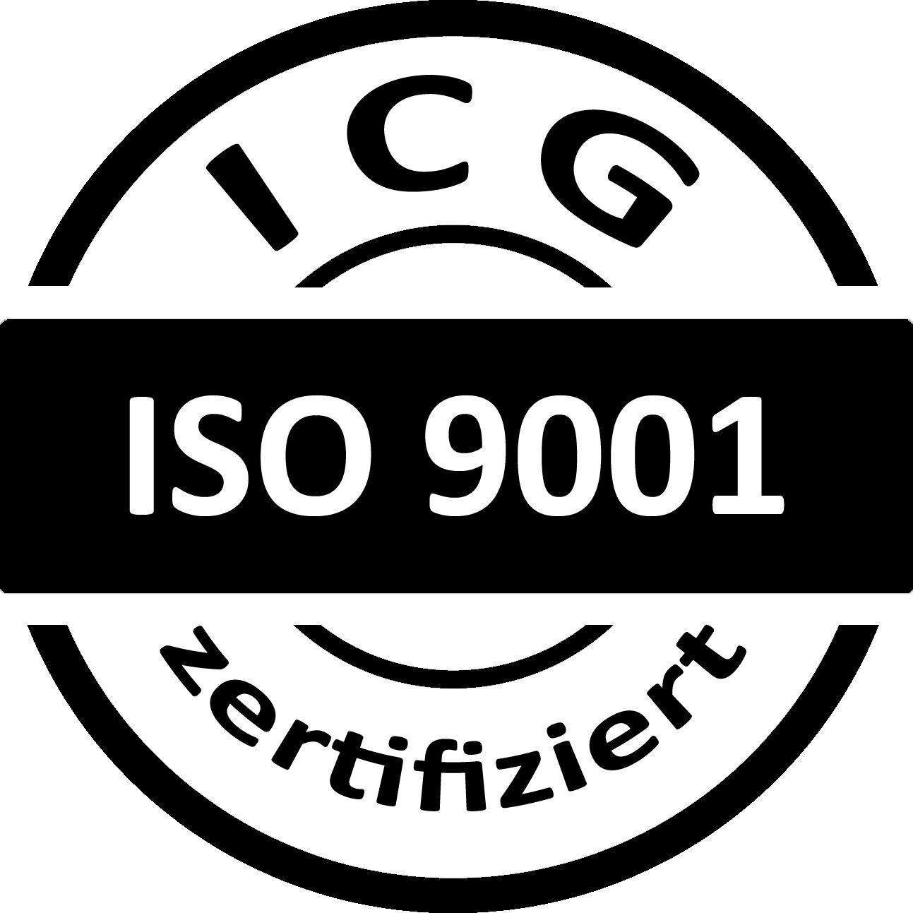 Weisschild Sicherheitsdienst Zertifikat ISO 9001